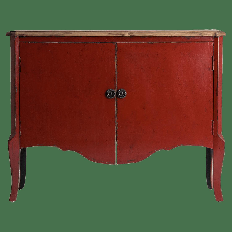 Wants&Needs Luxury Opbergkast Samari Rood 100 x 120 x 40