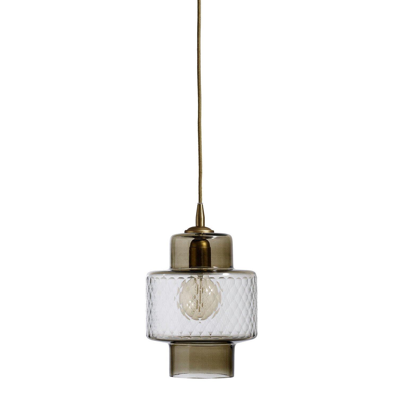 Nordal hanglamp smoke glass 30 x �18