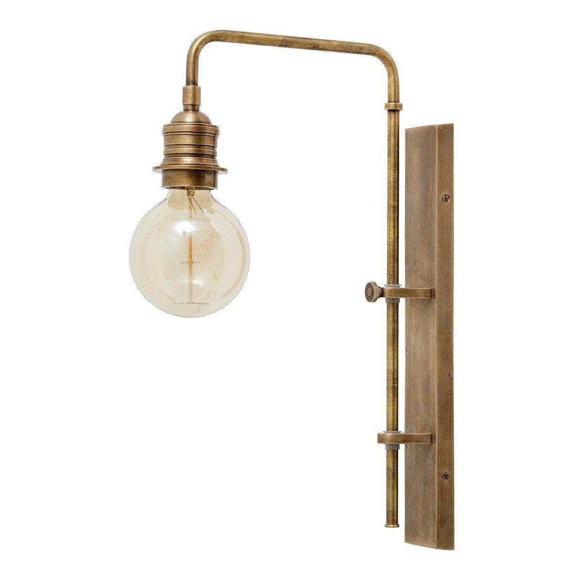 Nordal wandlamp bulb brons 48 x 7 x 40