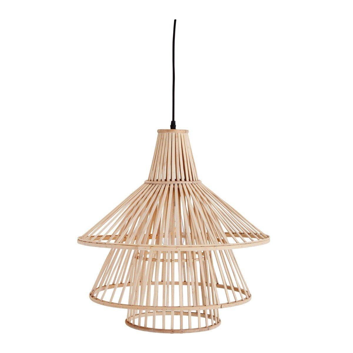 Madam Stoltz hanglamp bamboe naturel 51 x � 47,5