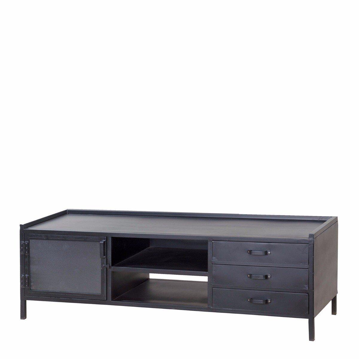 Eleonora TV meubel Industrieel 50 x 160 x 50