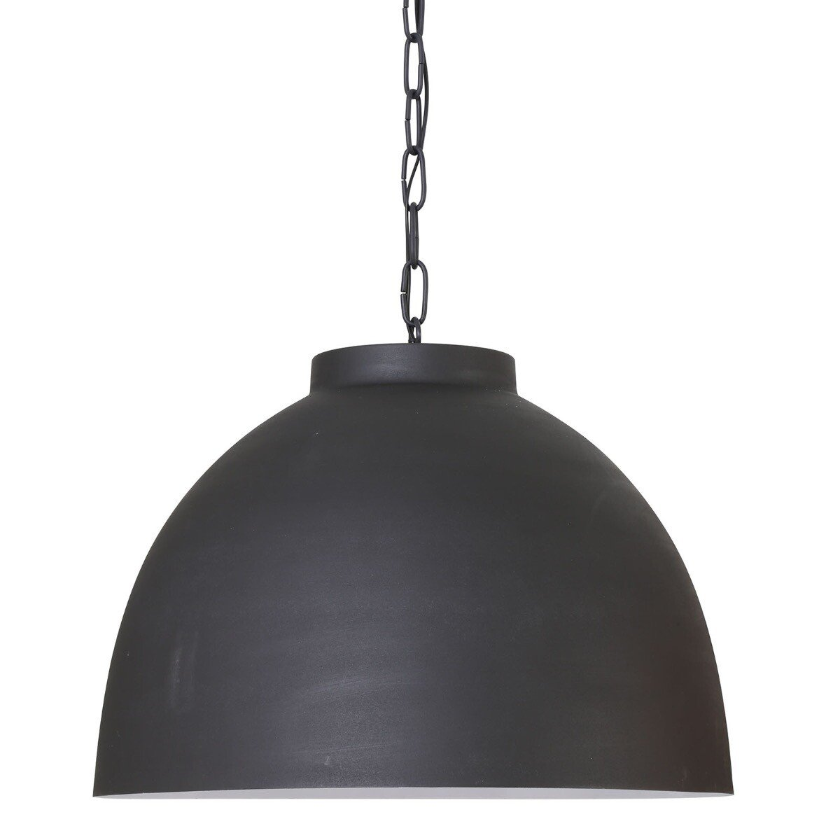 Light&Living hanglamp Kylie grafiet wit XL 42 x �60