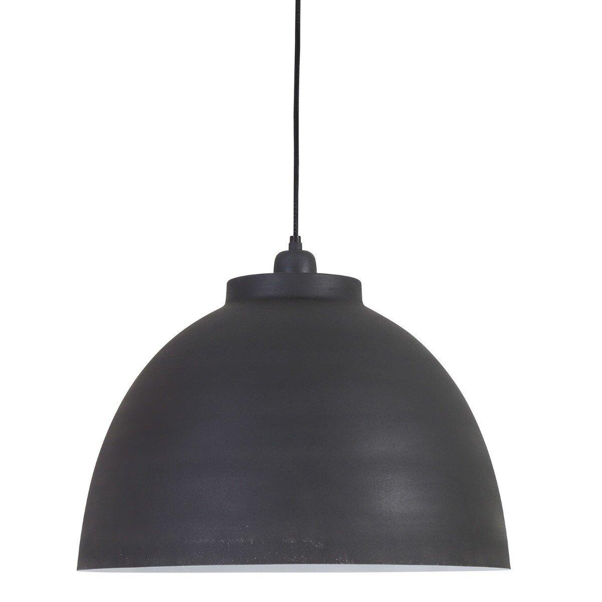 Light&Living Hanglamp Kylie graffiet-wit 31x �45