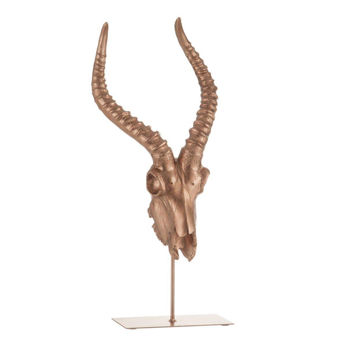 J-Line Ornament antilope ros� goud 55 x 24 x 21