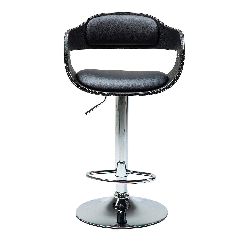 Kare Design Barkruk Costa PU-Leder Zwart 106 x 48 x 48