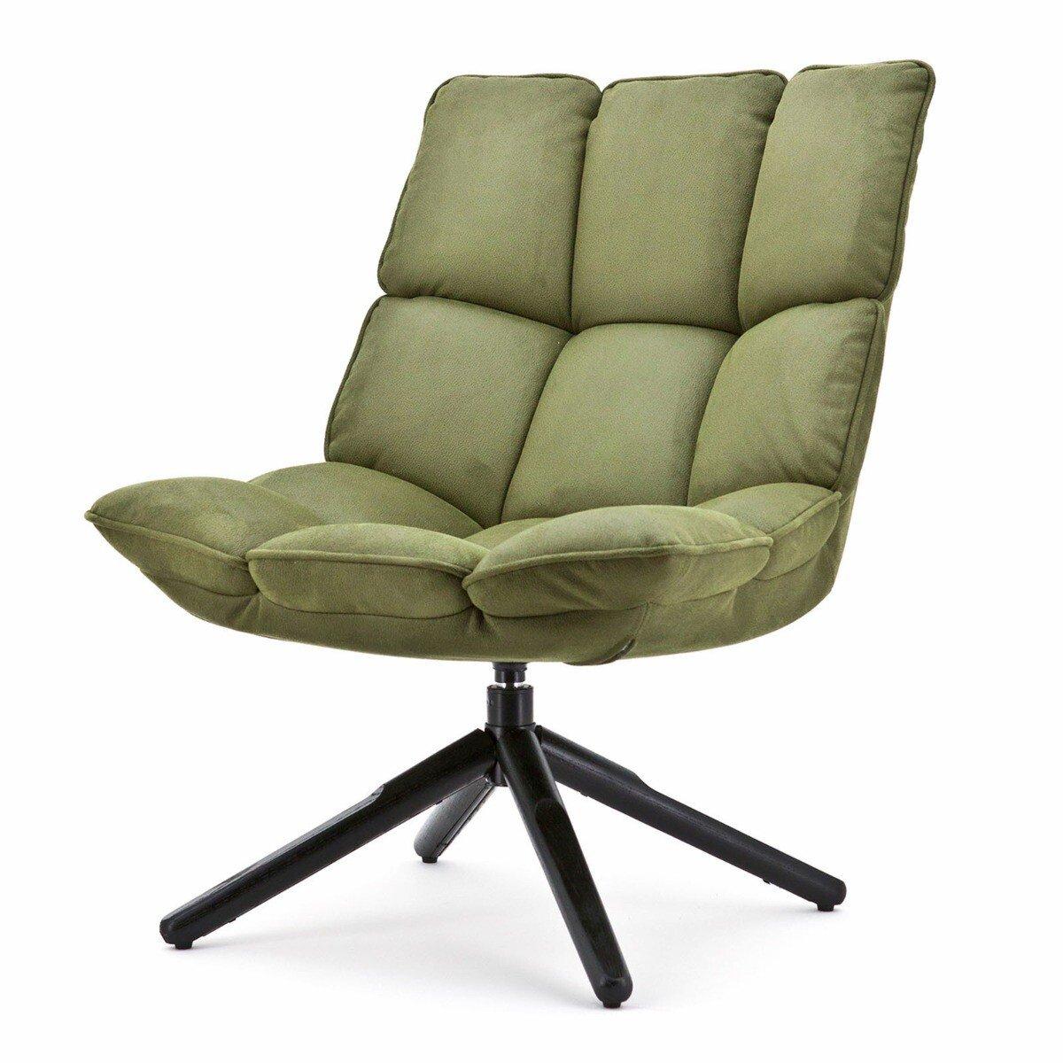 Eleonora Fauteuil Daan Polyester groen 93 x 68 x 78