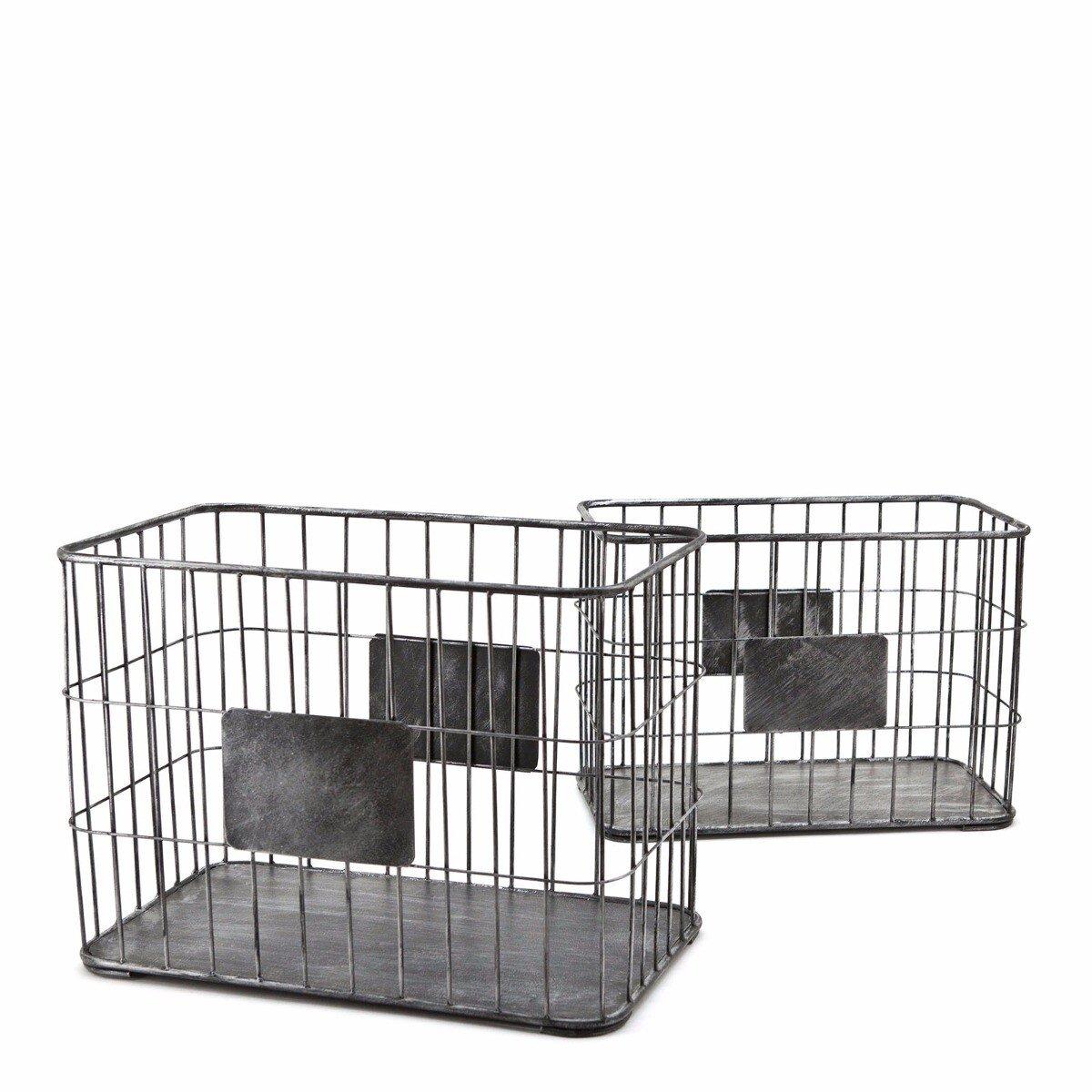 By Boo basket set large 31x45x25 - 36x50x30cm