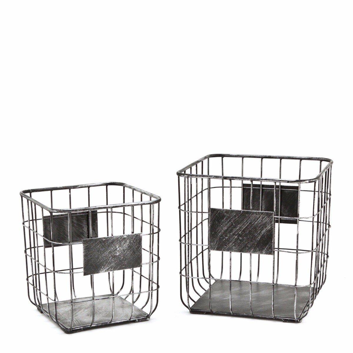 By Boo basket set small 29x27x27 - 33x33x33cm