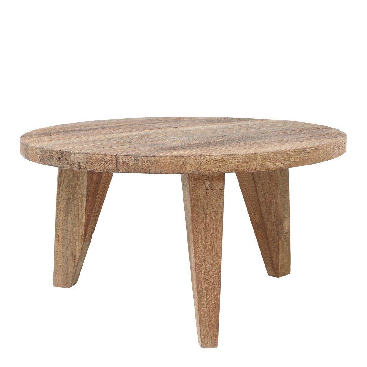 HKliving bijzettafel teak L hout naturel 35 x �65
