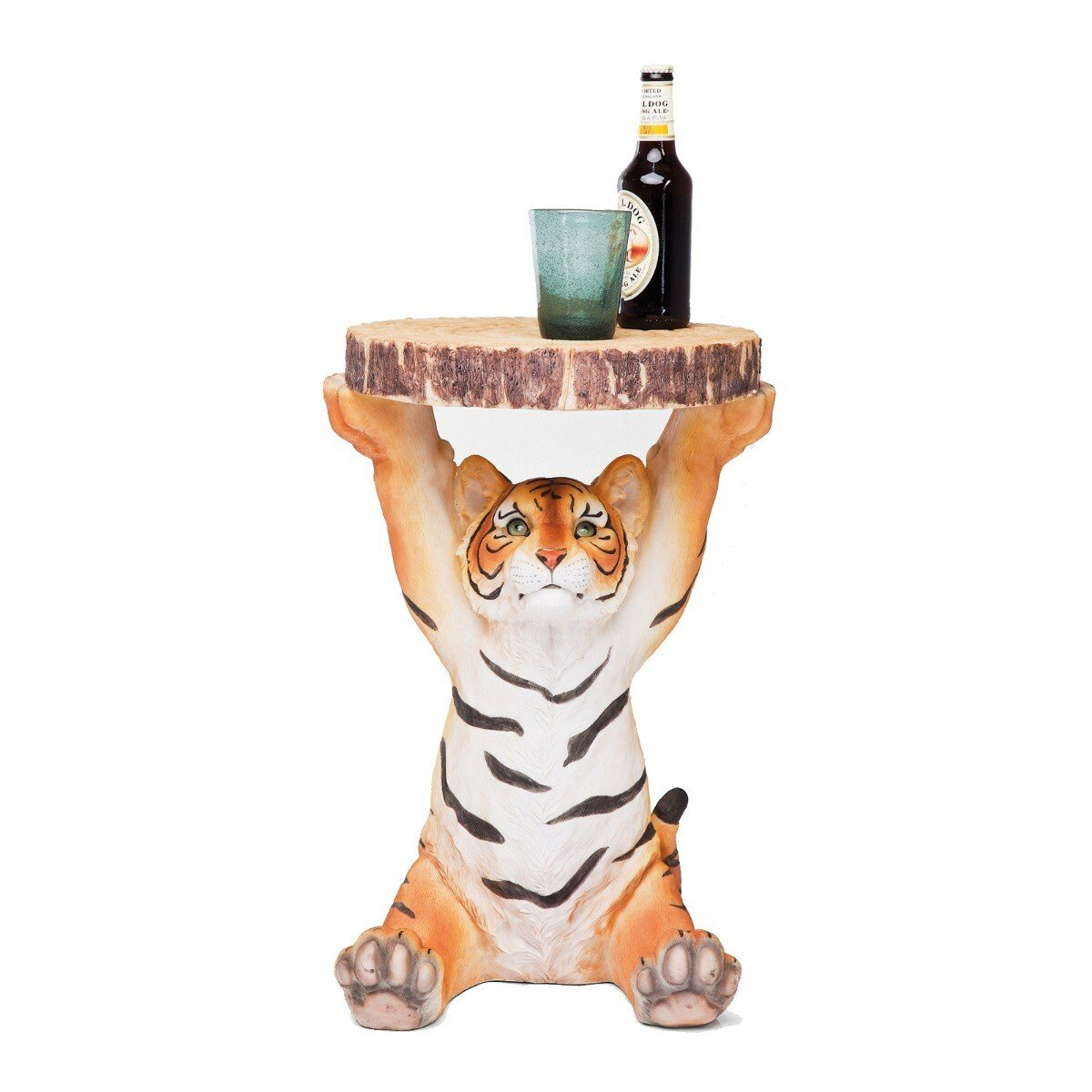 Kare Design bijzettafel tijger 53 x �35