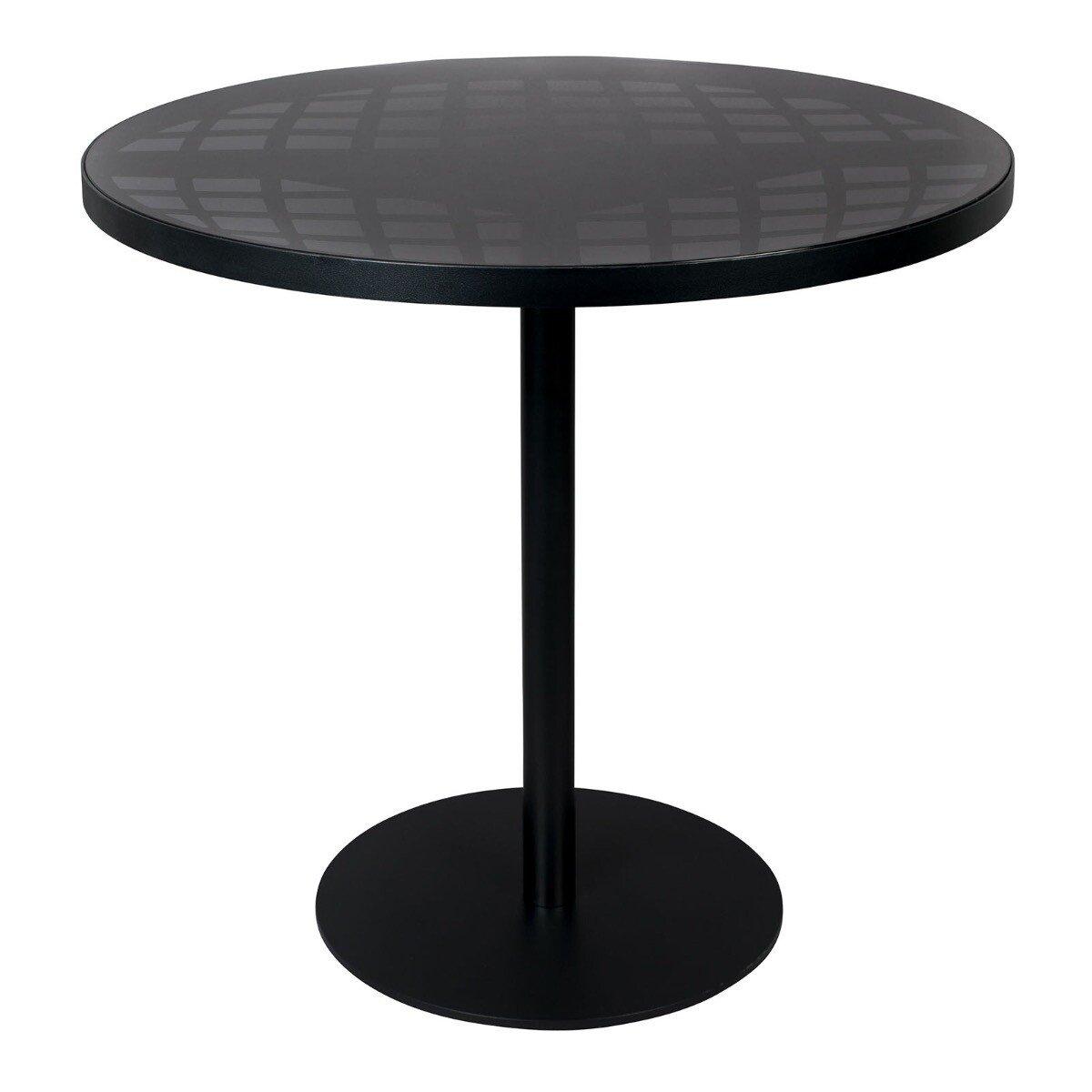 Bistro tafel Albert garden zwart