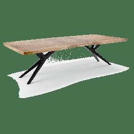 Eettafel Acaciahout 77 x 180 x 90