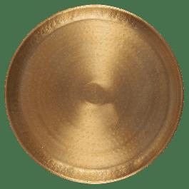 Dienblad Hammered Brass 2,5 x Ø40