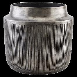 Vazen/Bloempotten Heylo Zilver geoxideerd 23 x ⌀24