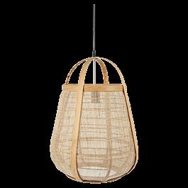 Hanglamp Hessian Naturel 49,5 x 36 x 36