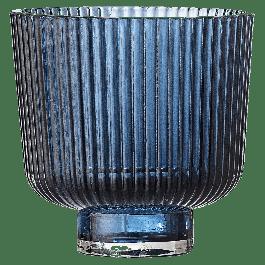 Bloempot Cekita Blauw glas ø9 8.5cm.H
