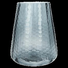 Kandelaar Glas Grijs 15 X 15 X 19