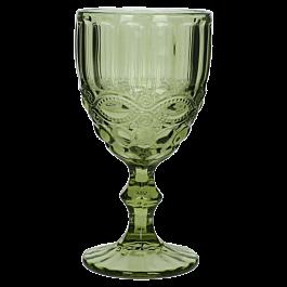 Wijnglas Groen 9 X 9 X 17