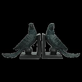 Boekenhouder Peacock Blauw 51 X 10 X 22 Opbergbox /2