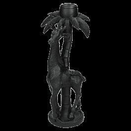 Kandelaar Polyresin Zwart 10 X 10 X 23.5