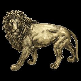 Ornament Lion Goud 29 X 12 X 22