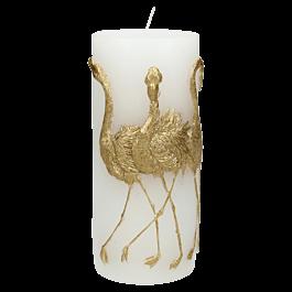 Kaars Flamingo Wa X Wit 7.3 X 7 X 15