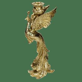 Kandelaar Peacock Goud 29.5 X 7 X 11.5