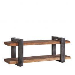 11167, TV meubel mango zwart 55 x 150 x 40, www.wantsandneeds.nl