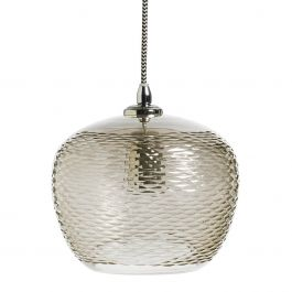 Glazen hanglamp Nordal - Hanglamp Tendence bruin glas - 15457 - www.wantsandneeds.nl