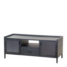 22521, TV meubel Industrieel 2-drs. - 1 lade 50 x 130 x 50, www.wantsandneeds.nl Eleonora