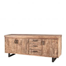 22723, Dressoir Mango 3-drs. 3 laden 83 x 200 x 45, www.wantsandneeds.nl