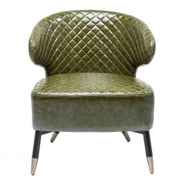 Fauteuil groen Cocktail Chair Session - 80818 Kare Design - www.wantsandneeds.nl