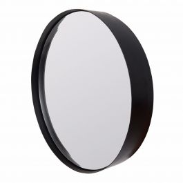 Spiegel Raily zwart rond XL wantsandneeds.nl 8100009