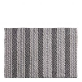 vloerkleed airbag white grey gestreept