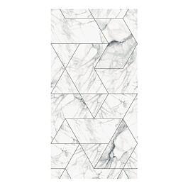 behang s marble mosaic white grey 280 x 97,4