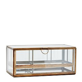 box met vakverdeling glas antiek brass - Madam Stoltz - www.wantsandneeds.nl - PCH15705.jpg