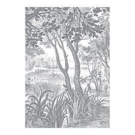 Fotobehang engraves landscapes 2 280 x 194,8