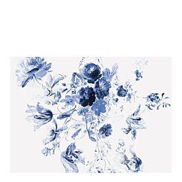 fotobehang royal blue flowers 3 280 x 389.6