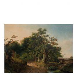 Fotobehang L golden age landscapes 280 x 389,6