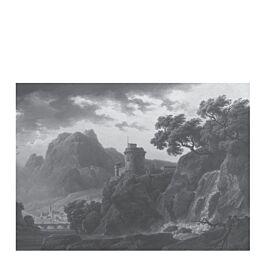 fotobehang xl golden age landscapes dark 280 x 389,6