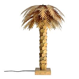 HK messing palm lamp - HKliving - Goud -www.wantsandneeds.nl - VOL5007