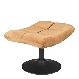 Hocker Bar bruin velvet - Dutchbone - www.wantsandneeds.nl - 3300033