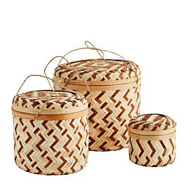 manden set bamboo naturel/bruin.- Madam Stotlz - www.wantsandneeds.nl - YX18001-BRN.jpg