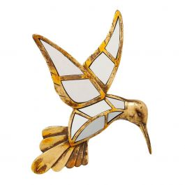 Muurdecoratie Hummingbird Mirror - Kare Design - www.wantsandneeds.nl - 51220