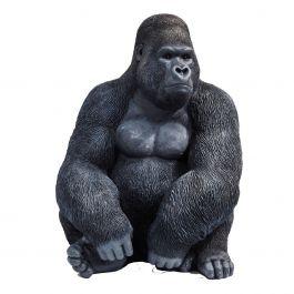 Ornament monkey gorilla xl - Kare Design - www.wantsandneeds.nl - 39378