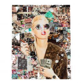Schilderij Trendy Shopper - Kare Design - www.wantsandneeds.nl - 53057