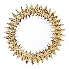 Spiegel Leaves Gold - Kare Design - www.wantsandneeds.nl - 83763