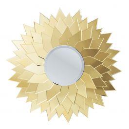 Spiegel Sunflower Round - Kare Design - www.wantsandneeds.nl -  79184 - 1.jpg