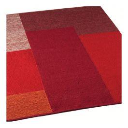 Vloerkleed Blocks Red