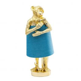 Tafellamp Animal Monkey Goud - Kare Design - www.wantsandneeds.nl - 61602